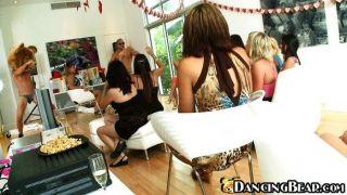 Mädchen eine private Party mit