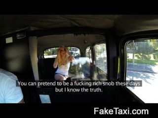 faketaxi - meine Ex-Freundin in anal Creampie