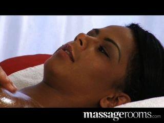 sexy Ebenholz sinnlich Schamlippen und Klitoris Massage
