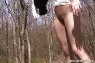 Babe Griffweise in den Wald