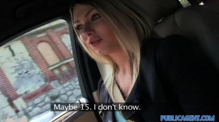 publicagent - junge schöne blonde russische