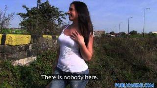 publicagent - sexy Babe wird von Fremden gefickt