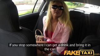faketaxi - blonde MILF will Party machen