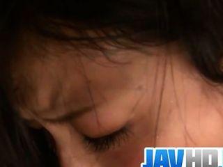 Megumi Haruka gibt die beste asiatische Blowjob