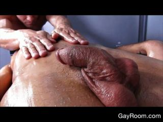 heißen Homosexuell Massage und Hahn Reiten