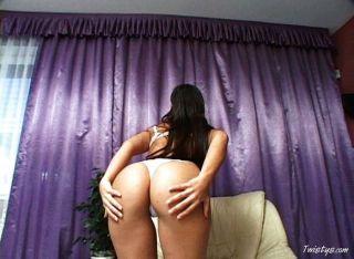 sexy Vorabend mit ihrem Dildo 1