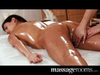 Massageräume - lesbische Jugendliche perfekten Körper