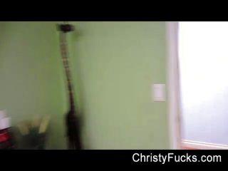 Hinter den Kulissen Spaß mit Christy Mack
