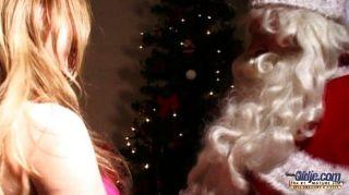 fiesen Teeny fickt Weihnachtsmann