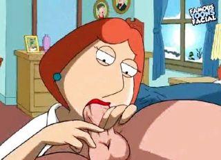 Peter und Lois Griffin aus Family Guy mit