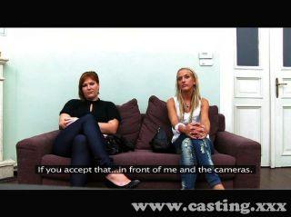 Bisexuelle auf der Casting Couch