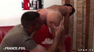 sexy französisch Milf bekommt ihren Arsch genagelt