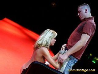 Porno auf der Bühne