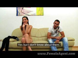femaleagent - real paar Casting Fick