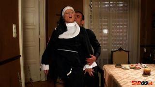freche Nonne
