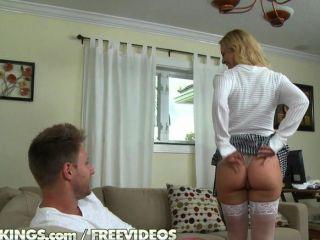 Ich denke, sie mag den Dick einfach.