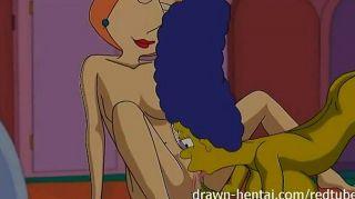 lesbisch Hentai marge simpson und Lois Griffin