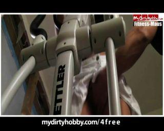 Fitness MAUS - sportlich Fick Compilation