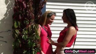Mädchen aus Westen - hot australische lesbische Mädchen