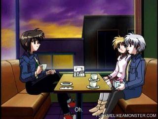 anime hottie fucks