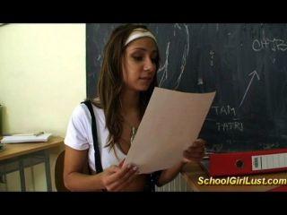 böse Schülerin fickt ihr Lehrer