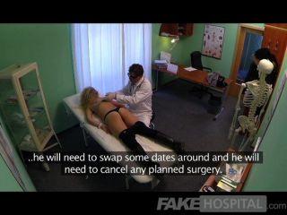 fakehospital - blonde Betrug saugt und ficken
