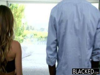 geschwärzt zwischen verschiedenen Rassen Urlaub für Betrug Freundin Remy Lacroix