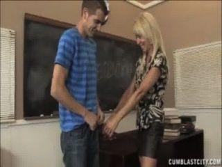 cumblast für den reifen Lehrer