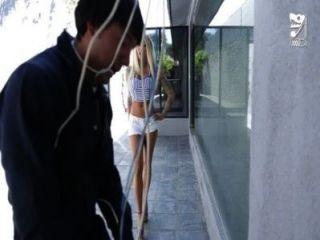 mexikanische Cable Guy fickt großen titted geil Mädchen !!! lolly Tinte