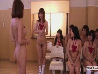 untertitelte unzensierte japanische FKK-Schule Club Orgie