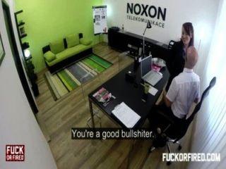 meine Frau in meinem Büro assfucking