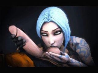 Videospiel animiert Compilation - bioshock, Grenzländer, Grabräuber, Masseneffekt