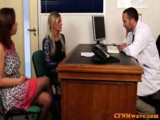 cfnm Domina lissa Liebe gibt einen bj Arzt
