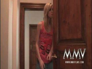 mmvfilms alter Mann Sperma aus einem jugendlich ihre Muschi saugen