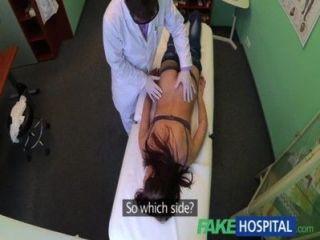 fakehospital ziemlich Patient wurde von der Krankenschwester prepped