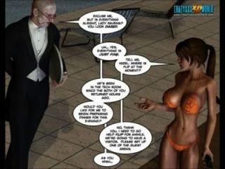 3D-Comic: clara Raben. Folge 1