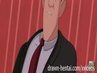 Eisen-Riese Hentai - Dusche mit annie