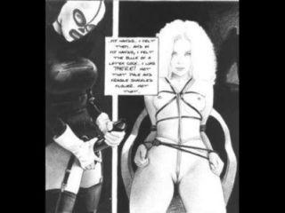 Träume von einem Sadisten Bondage Fetisch Comic