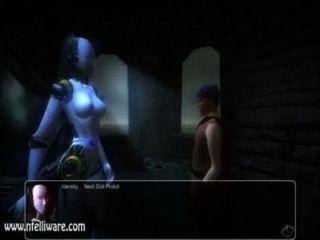 Monster Mädchen Quest 3D succubot Szene