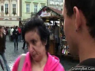 alte Touristen abgeholt und immer geschraubt