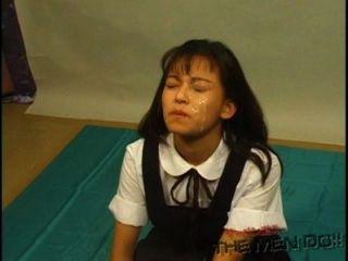 bukkake Gymnasium Lektion 7 4/4 japanischen unzensierte Blasen