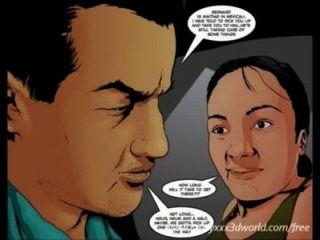2d Comic: überqueren. Folge 2