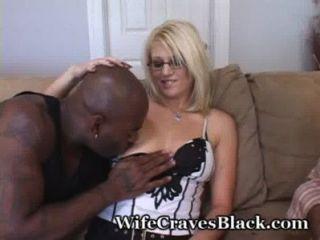 weiß wifey sehnt dunklem Fleisch