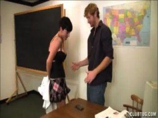 Rucken der Lehrer