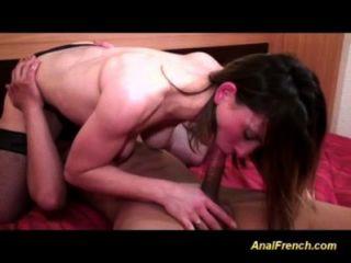 französisch jugendlich ist bei Blowjob und anal gut