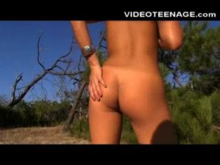 FKK-Strand Teenager Video