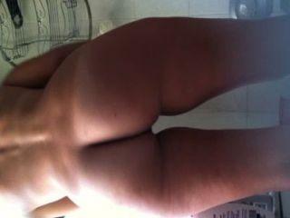 hidden cam auf Freundin in der Dusche