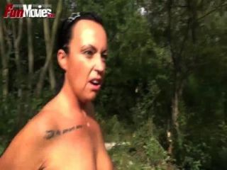Spaß-Filme Deutsch Amateur Dogging in den Wald