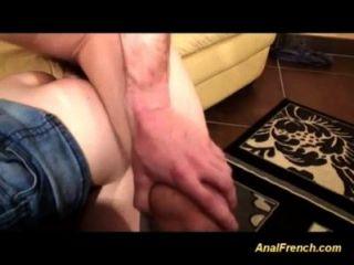 französisch gals sind anal gefickt in Orgie