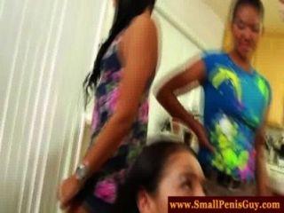 cfnm Girls haben einen kleinen Penis Partei